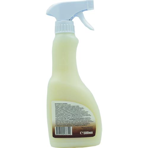 Препарат за почистване и полиране на дърво с пчелен восък